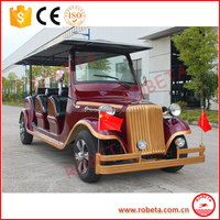 Real Estate Luxury 8 Seater Electric Classic Car/Vintage Car For Pick up