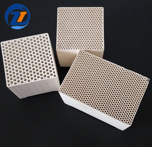 Thermal storage RTO/RCO Honeycomb Ceramic as catalytic converter for heat recovery