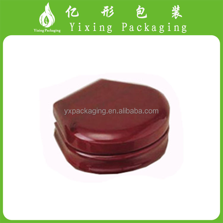 YIXING custom logo printed modern fist tooth wooden box jewelry box