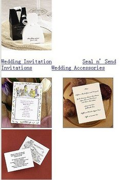 Wedding Supplies wedding invitation