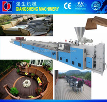wpc door frames extruder / wpc floor production line / pvc wood plastic composite machine