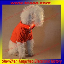 Hot sale Plain Color led flashing pet dog costume