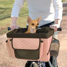 Wholesale Price Alibaba Com Soft Small Animal Bike Carrier Bag Pet Bicycle Basket For Dogs