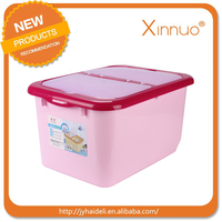 2016 new good quality plastic rice box