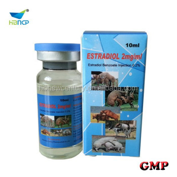 0.2% estradiol benzoate injection pharmaceutical product