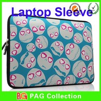 2015 New Design Logo print 20 inch laptop sleeve for neoprene