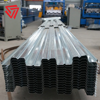 G450 Z450 high strength galvanized corrugated steel decking prices in philippines