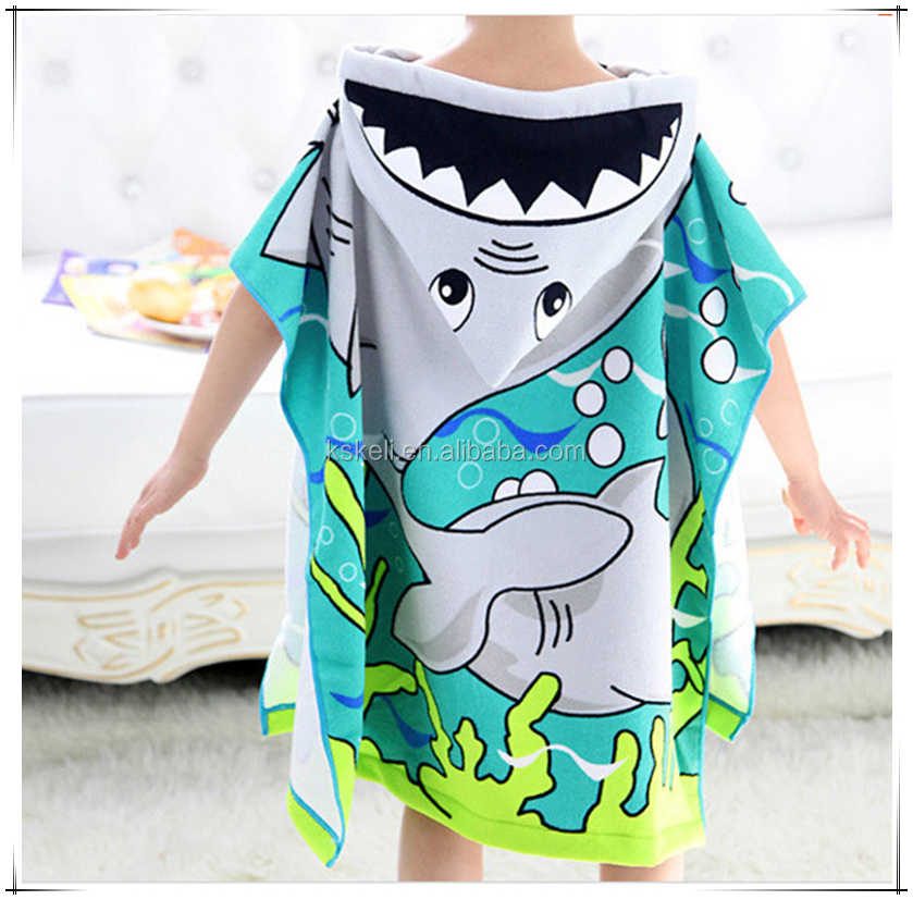 Absorbent Microfibre Baby Bath Towel Lint-free Bathrobes Children hooded towel