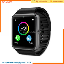 Wholesale cheap Chinese smart watch mp3 music player wristwatch model GT08 free shipping worldwide