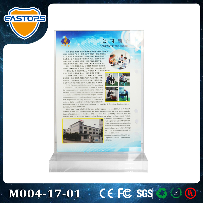 10 Years EASTOPS Acrylic Display Factory Supply The High Quality Acrylic Model Display Case