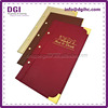 New Style a4 leather folio China Factory