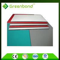 Greenbond new custom design aluminum color chart for acp