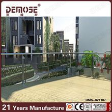 2016 New technology! High quality tempered laminated glass railing