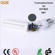 5w compact light 2U bulb cfl energy saving lamps with best price high quality