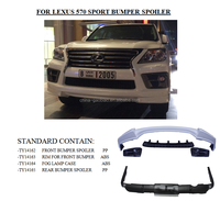 Lexus 570 sport auto parts bumper spoiler(for Lexus 570 car)