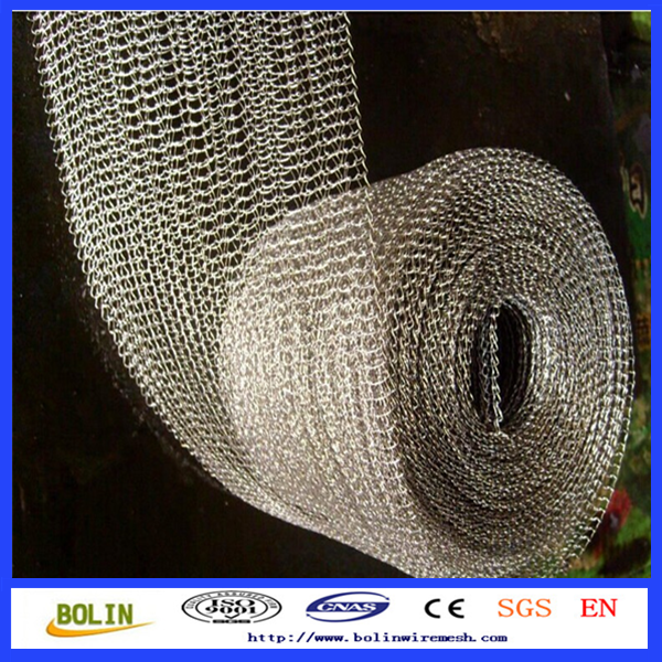 inconel wire 600 601 625 knitted wire mesh gas liquid filtration screen mesh