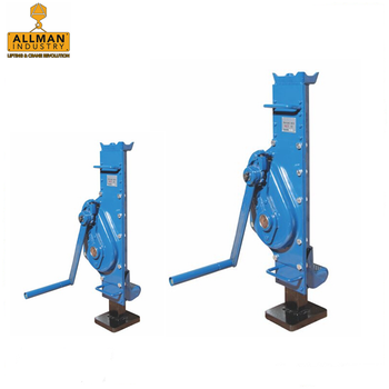 ALLMAN CE approved heavy duty mechanical steel jack (1.5ton to 25ton capacity )