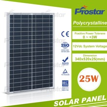 poly 12v 25ma solar panel 25w solar module for home use Monocrystalline Silicon Solar Panel