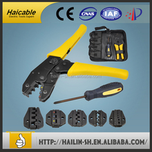 LXK-30JN New Magnetic Type Crimping Tool Set Universal Cable Compression Tool Coaxial Crimper Crimping Tool
