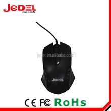 2017 JEDEL hot selling slim mouse wired usb wired touchpad mouse mouse with usb storage