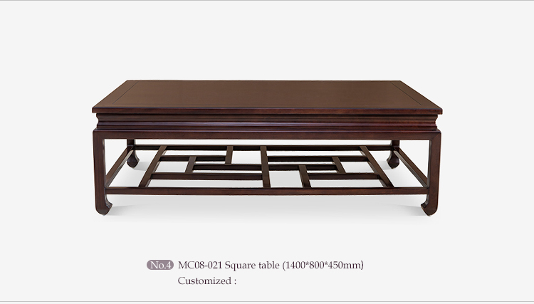 Chinese antique furniture painted living room furniture set , wood carved living room set