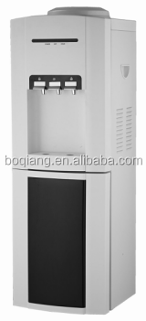 hot and cold standing POU water dispenser with filter
