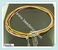 Beadsnice ID 2374 jewelry making necklace cord brass chain alloy clasp jewelry findings wholesale