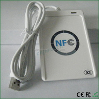 Factory Price ACR122U long range rfid transponder readers with chips for hotel with 13.56mhz