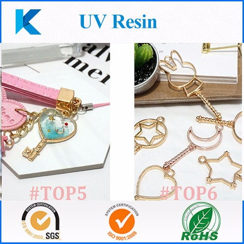 Clear fast curing UV resin for DIY jewelry making