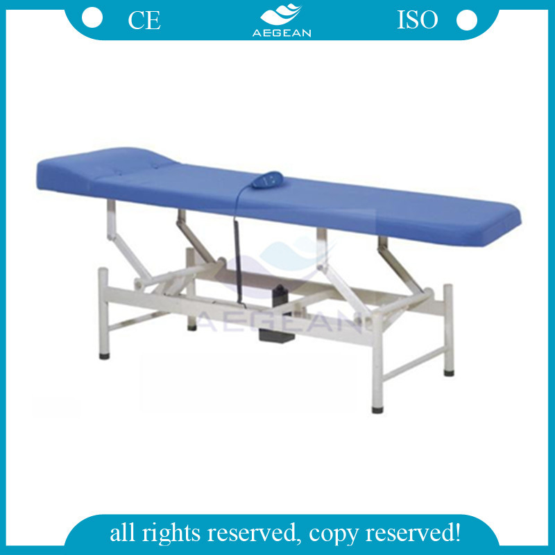 AG-ECC07 Hot sales!!! Motorized height adjustable examination patient couch