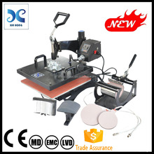 second hand sublimation heat press machine HP5IN1