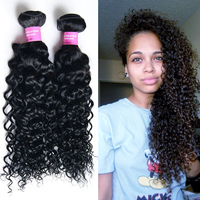 wholesale natural color virgin malaysian kinky curly hair, 100% unprocessed malaysian hair