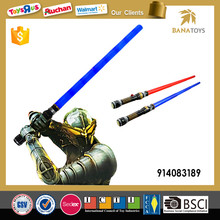 Hot sale light plastic sword toy with IC
