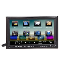 "Universal 7"" 2 Din Mirror Link Connect Android Cellphone Car DVD/USB/SD Player 3G WiFi Bluetooth GPS Radio HD Car Entertainment"