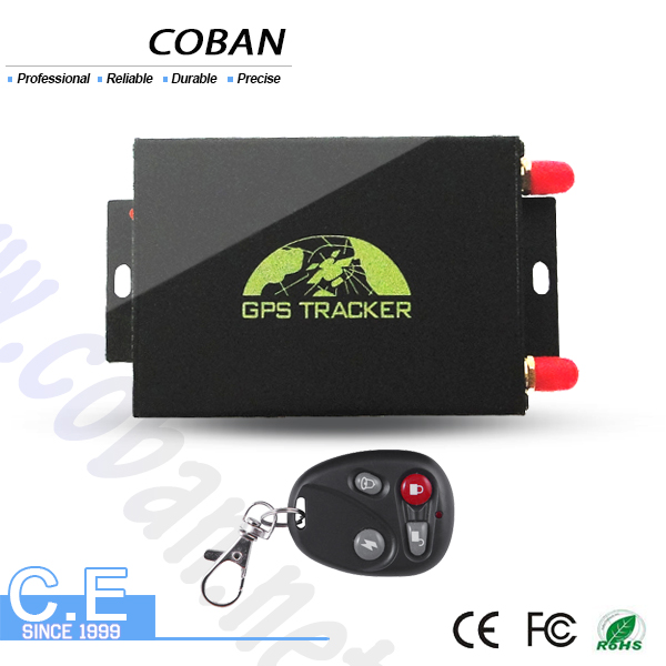 dual sim card vehicle gps tracking device with camera TK 105 , RFID vehicle gps tracker with car speed limiter