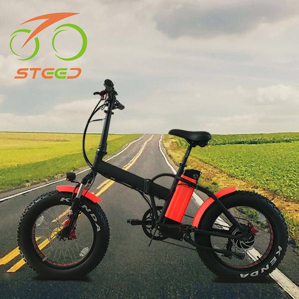 Efficient fat tire snow electric chopper bike cruiser