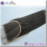 Alibaba 7A grade hair bundles virgin brazilian malaysian Peruvian Hair Lace Closures