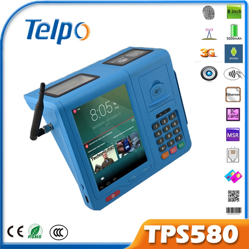 Barcode Reader Top up Airtime E-Ticket Mobile Money POS POS Terminal POS Device
