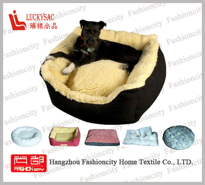Hot sale strawberry heated dog bed