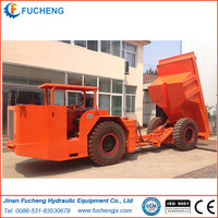 China articulated underground mining dump truck for sales