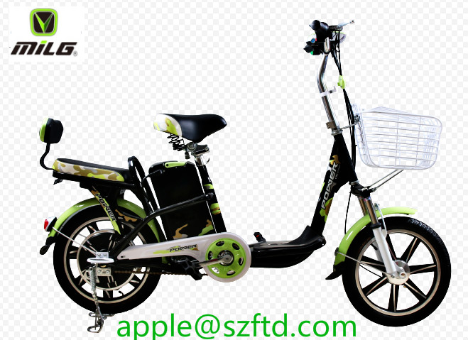 350w bajaj new bikes image small portable electric bike with pedals/ Tianjing very cheap electric bicycle for girls