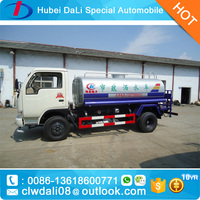 Factory sale Dongfeng 4x2 5000L water cart, 5000L mobile watering bowser