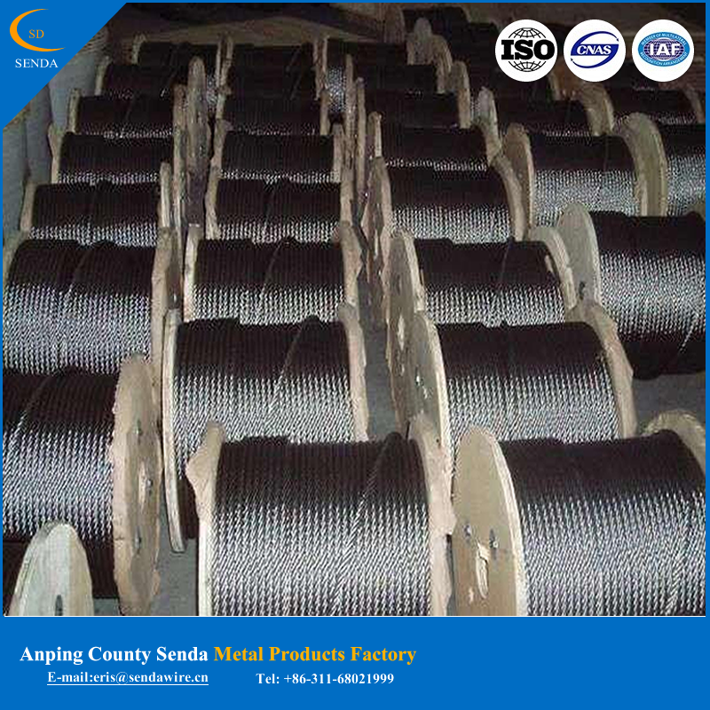 Galvanized twist iron wire2016