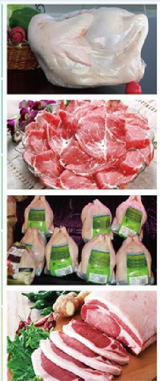 High qualityh and low price of Transparent shrinking Bag for Raw Meat