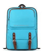 600D polyester colorful camera backpack bag, school bags trendy leisure school bags