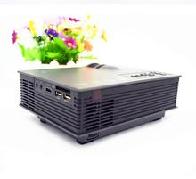 Factory Wholesale UNIC UC46 1200 lumens Portable Mini LED WIFI Home Theater Multimedia VideoUC46 Projector