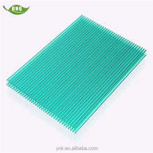 Plastic colored four-wall 20mm thickness polycarbonate sheet