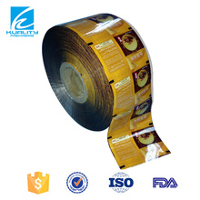 Top Quality food packaging aluminum foil seal film for ground coffee packing