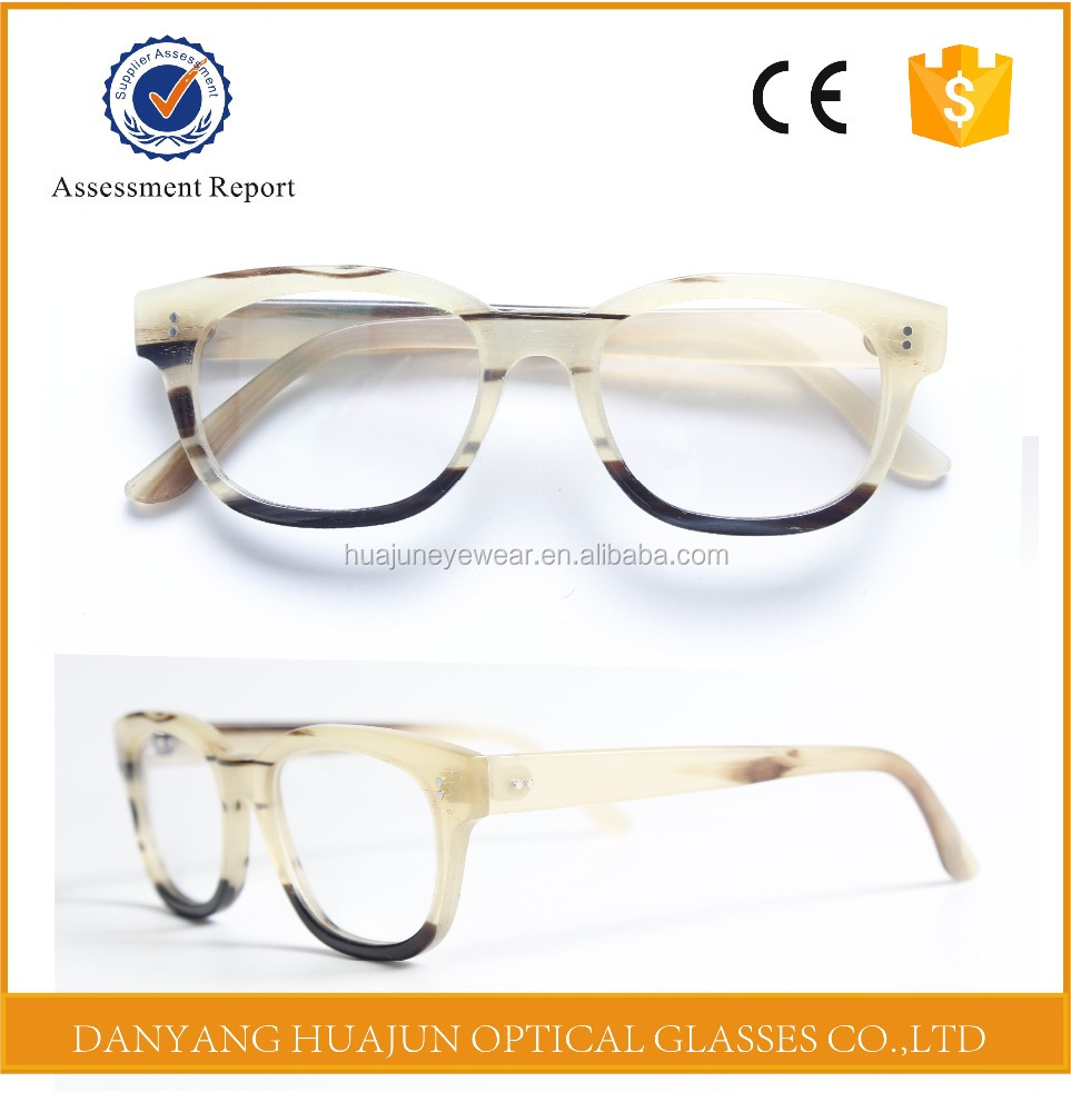 High quality buffalo horn products optical eyewear glass frame