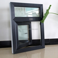 horizontal opening pattern and steel frame material plastic window and door, upvc profile window